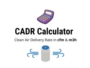CADR Calculator for Air Purifiers