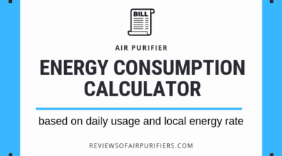 Air Purifier Electricity Consumption Calculator