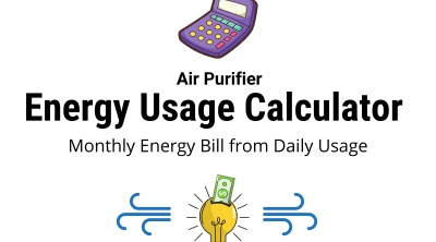 Air Purifier Electricity Cost Calculator