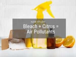 Bleach Cleaner may Produce Harmful Indoor Air Pollutants