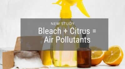 Bleach Cleaner may Produce Harmful Indoor Air Pollutants
