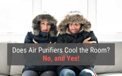 Does Air Purifiers Cool the Room? No, and Yes!