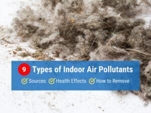 9 Types of Indoor Air Pollutants
