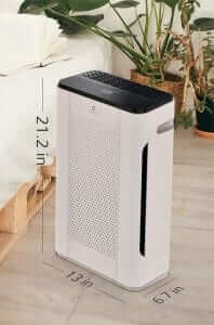 Airthereal APH260 Air Purifier dimensions