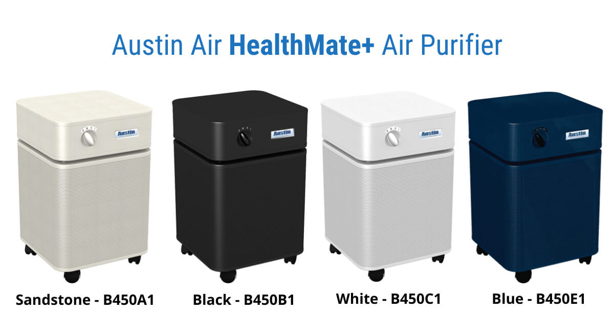 Austin Air HealthMate Plus color variants