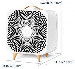 Blueair Blue Pure Fan Dimensions