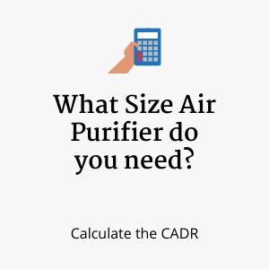 CADR Calculator in cfm and m3h