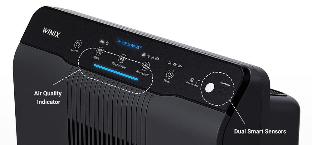 Winix 5500-2 Control Panel