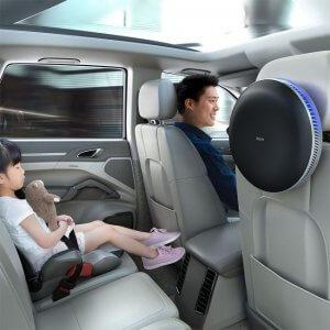 IQAir Atem Air Purifier in Car