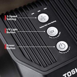 Toshiba Smart Air Purifier Control