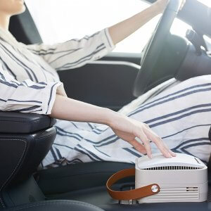 Westinghouse 1804 Portable Air Purifier in Car