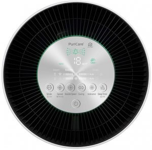 LG PuriCare 360 Degree Air Purifier Control Panel