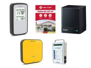 Best radon detectors