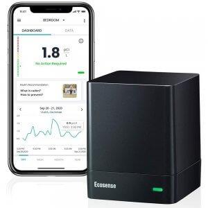 EcoQube EQ100 Radon Gas Detector