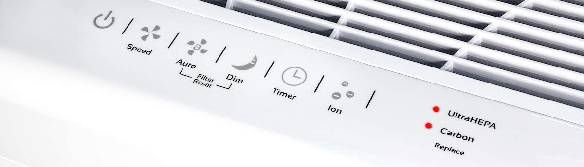 AirDoctor 3000 Air Purifier Control Panel